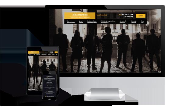 Widok realizacji strony detektyw-slowinska.com